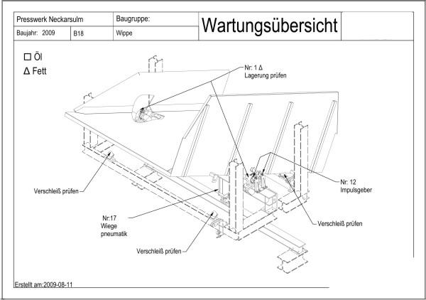 Tabliczka ze schematem montażu podłogi pokazdu
