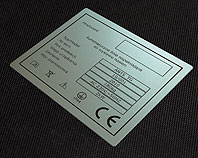 Aluminiowa tabliczka dla automatycznej linii napełniajacej dowysiewu nasion