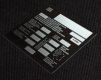 Metalowa tabliczka do automatycznego regulatora siły hamowania