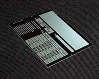 aluminiowa tabliczka znamionowa