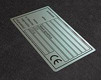 Tabliczka znamionowa CE do wózka ogrodniczego