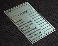 Tabliczka do pulsatora