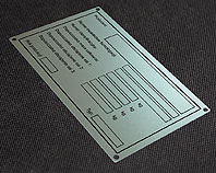 Tabliczka aluminiowa homologacji